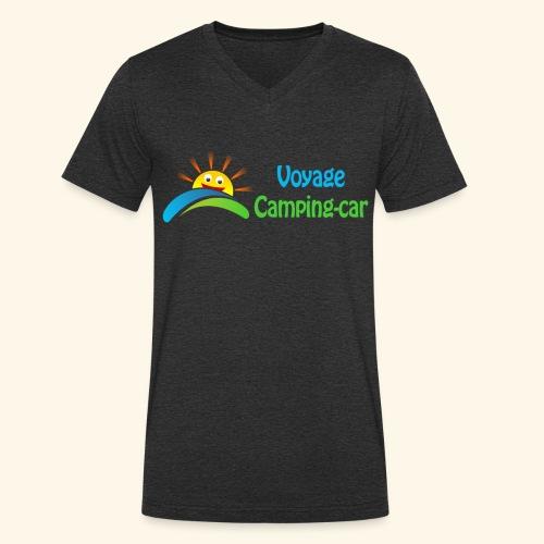 Voyage Camping-Car - T-shirt bio col V Stanley & Stella Homme