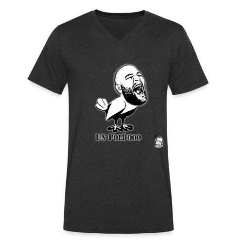 Motivo Poldo - T-shirt ecologica da uomo con scollo a V di Stanley & Stella