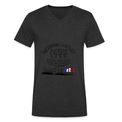 Les anciennes courses automobile - T-shirt bio col V Stanley & Stella Homme