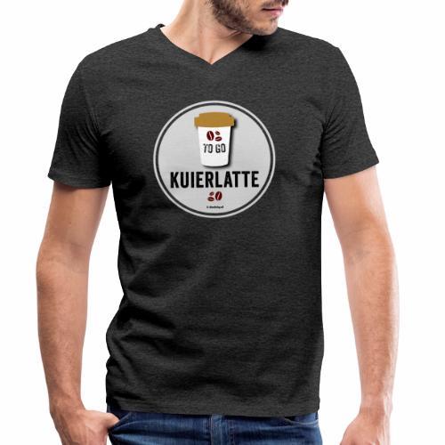 Kuierlatte - Mannen bio T-shirt met V-hals van Stanley & Stella