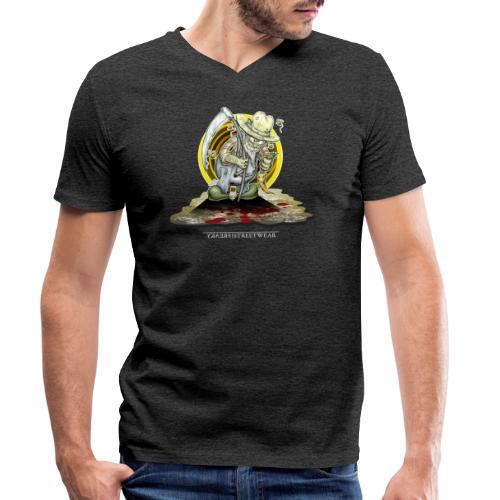 PsychopharmerKarl - Männer Bio-T-Shirt mit V-Ausschnitt von Stanley & Stella