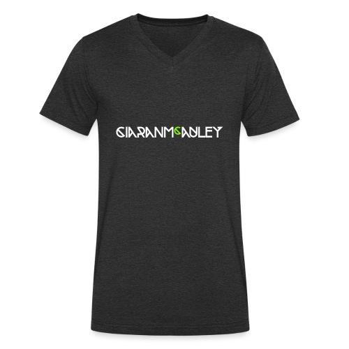 CMA White - Men's Organic V-Neck T-Shirt by Stanley & Stella