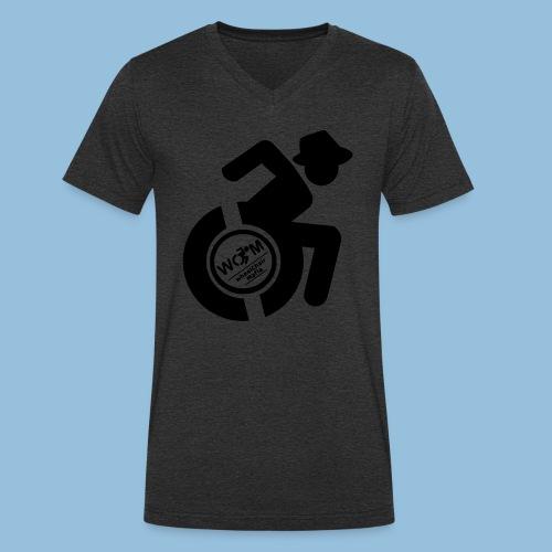 WCMman1 - Mannen bio T-shirt met V-hals van Stanley & Stella