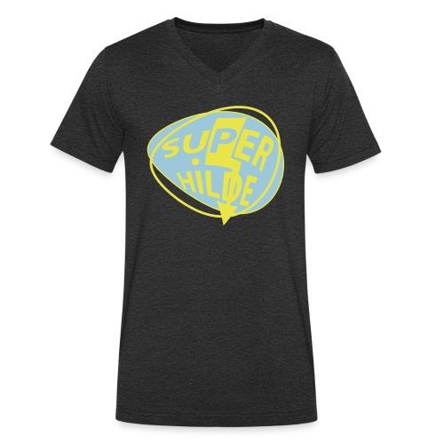 superhilde - Männer Bio-T-Shirt mit V-Ausschnitt von Stanley & Stella