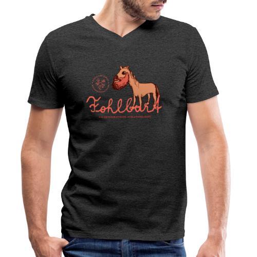Der Fohlbart - Männer Bio-T-Shirt mit V-Ausschnitt von Stanley & Stella