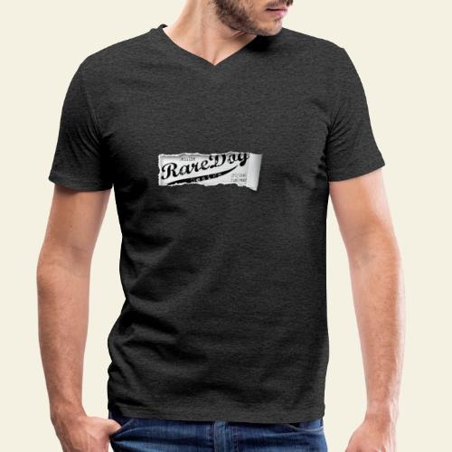 ripped paper - Økologisk Stanley & Stella T-shirt med V-udskæring til herrer