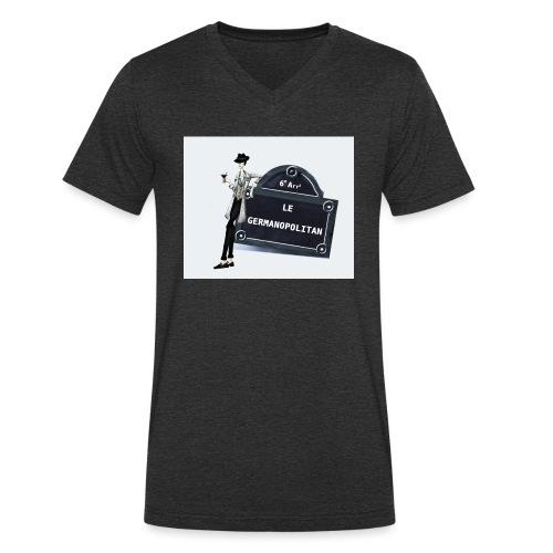 Sac Le Germanopolitan - T-shirt bio col V Stanley & Stella Homme