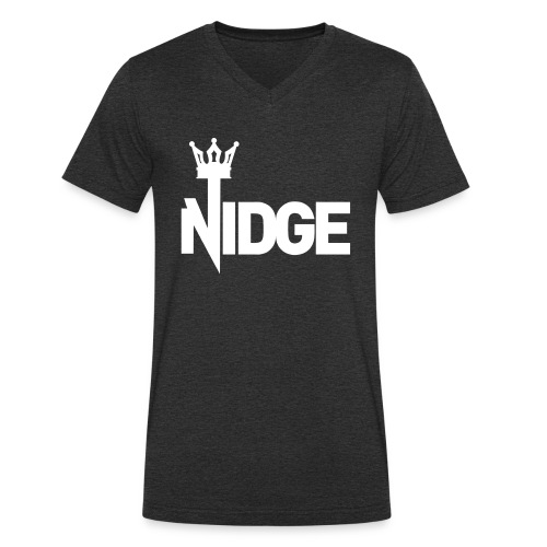 King Nidge - Men's Organic V-Neck T-Shirt by Stanley & Stella