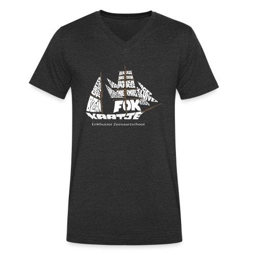 EZS T shirt 2013 Back - Mannen bio T-shirt met V-hals van Stanley & Stella