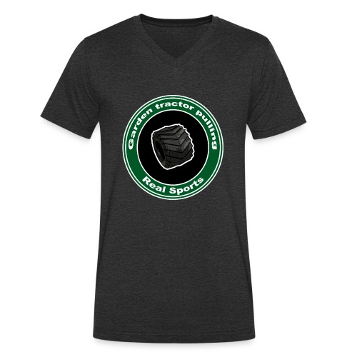børne Real Tractor Pulling - Økologisk Stanley & Stella T-shirt med V-udskæring til herrer