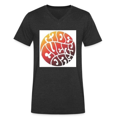 HIPPIERED-jpg - Camiseta ecológica hombre con cuello de pico de Stanley & Stella