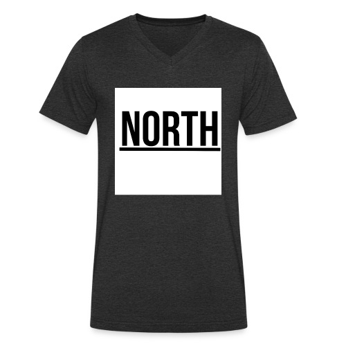 North T-Shirt VIT Man - Ekologisk T-shirt med V-ringning herr från Stanley & Stella