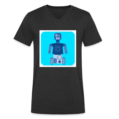 Neon - T-shirt ecologica da uomo con scollo a V di Stanley & Stella