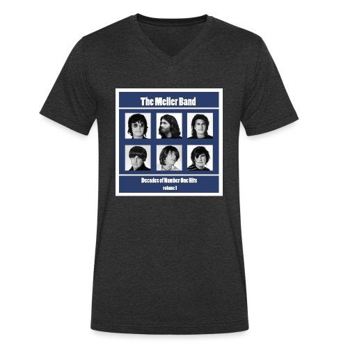 The Meller Band Brikker - Økologisk T-skjorte med V-hals for menn fra Stanley & Stella