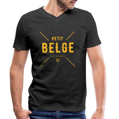 petit belge original - T-shirt bio col V Stanley & Stella Homme