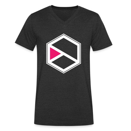 Kalihara logo - Männer Bio-T-Shirt mit V-Ausschnitt von Stanley & Stella