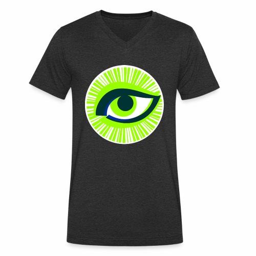 Auge - Männer Bio-T-Shirt mit V-Ausschnitt von Stanley & Stella