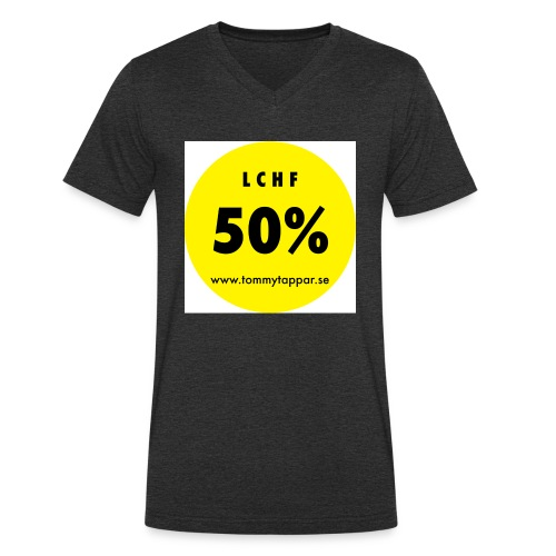 knapp 50 3 - Ekologisk T-shirt med V-ringning herr från Stanley & Stella