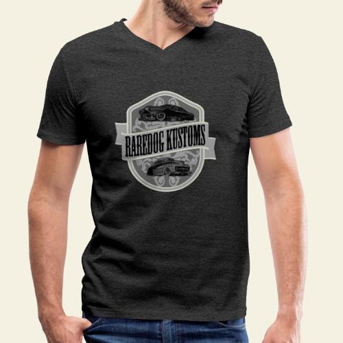 rd kustoms gray - Økologisk Stanley & Stella T-shirt med V-udskæring til herrer