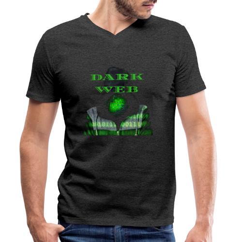 Dark weeb - T-shirt bio col V Stanley & Stella Homme