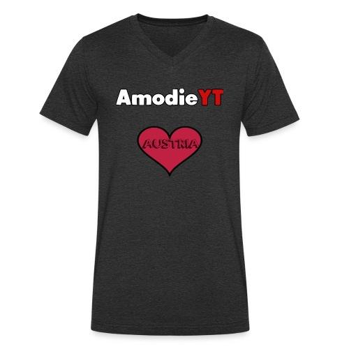 Amodie_YT - Männer Bio-T-Shirt mit V-Ausschnitt von Stanley & Stella