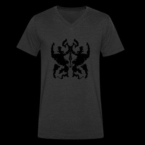 Rorschachtest Design - Männer Bio-T-Shirt mit V-Ausschnitt von Stanley & Stella