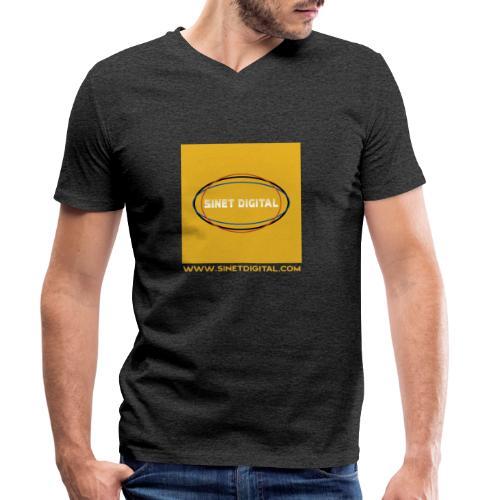 SINET DIGITAL - T-shirt bio col V Stanley & Stella Homme