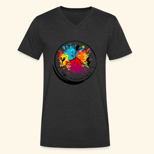Logo Transparent Av+Ar - T-shirt bio col V Stanley & Stella Homme