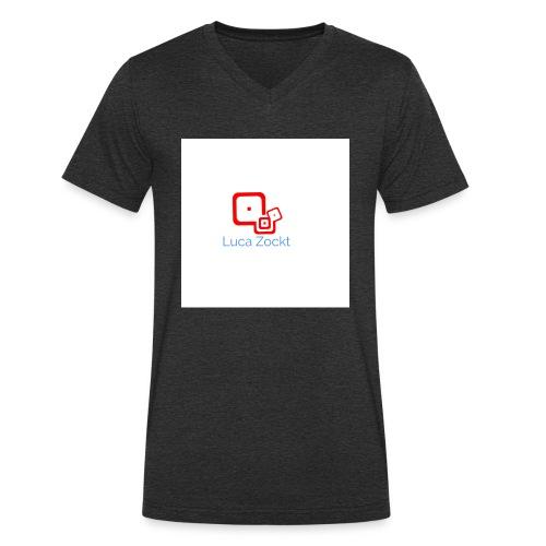 Luca ZOCKT - Männer Bio-T-Shirt mit V-Ausschnitt von Stanley & Stella