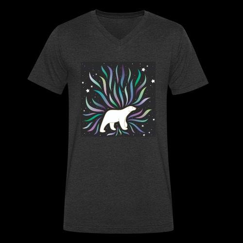 polar ours - T-shirt bio col V Stanley & Stella Homme