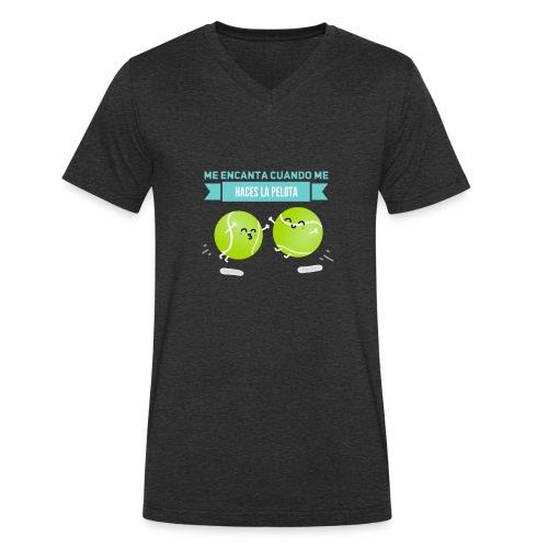 PicsArt 03 05 07 01 26 - Camiseta ecológica hombre con cuello de pico de Stanley & Stella