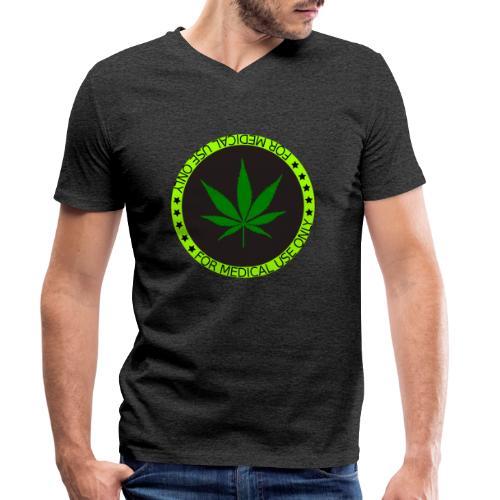 FOR MEDICAL USE ONLY HEMP 2 - Männer Bio-T-Shirt mit V-Ausschnitt von Stanley & Stella
