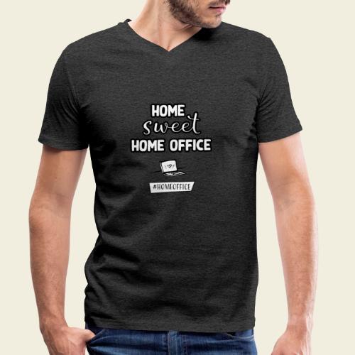 Home sweet Home Office - Männer Bio-T-Shirt mit V-Ausschnitt von Stanley & Stella