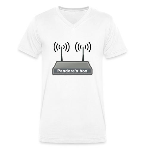 Pandora's box - Männer Bio-T-Shirt mit V-Ausschnitt von Stanley & Stella
