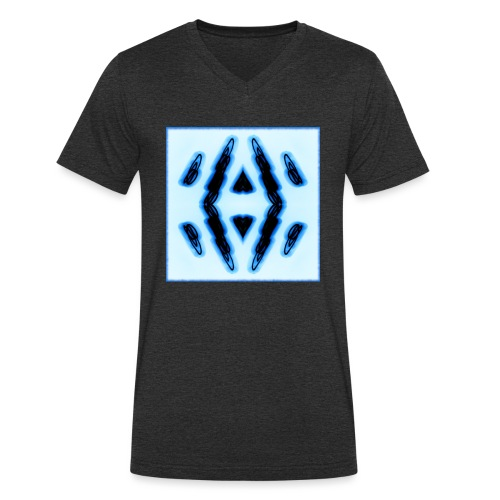 Lichtertanz #3 - Männer Bio-T-Shirt mit V-Ausschnitt von Stanley & Stella
