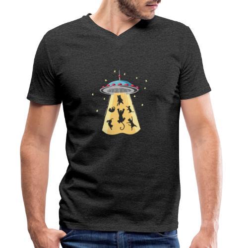 EXTRA CAT - T-shirt bio col V Stanley & Stella Homme