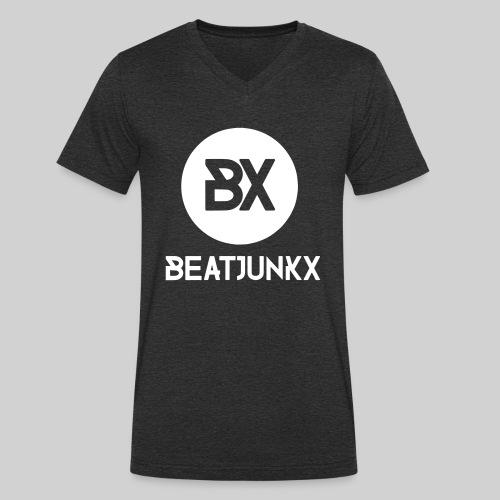 BEATJUNKX Mega Tank Fan - Men's Organic V-Neck T-Shirt by Stanley & Stella