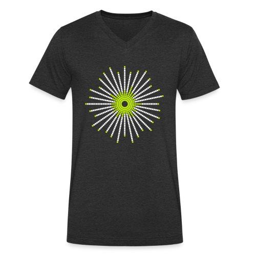 fancy_circle-png - Økologisk T-skjorte med V-hals for menn fra Stanley & Stella