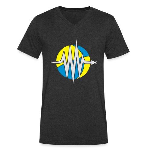 ObsPy Beachball Logo - Men's Organic V-Neck T-Shirt by Stanley & Stella