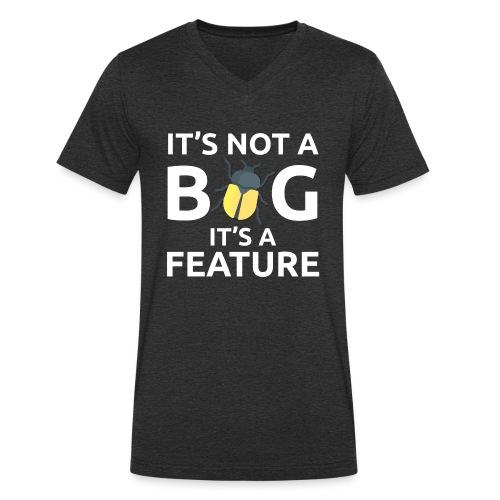 Bug feature sviluppatore programmatore Tazze & - T-shirt ecologica da uomo con scollo a V di Stanley & Stella