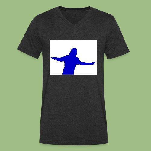 Drogba CFC - Ekologisk T-shirt med V-ringning herr från Stanley & Stella