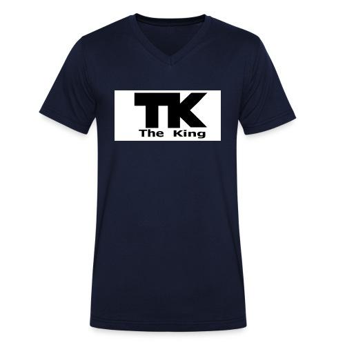 The King med ram - Ekologisk T-shirt med V-ringning herr från Stanley & Stella