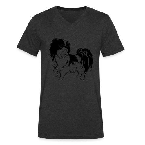 Hund - Ekologisk T-shirt med V-ringning herr från Stanley & Stella