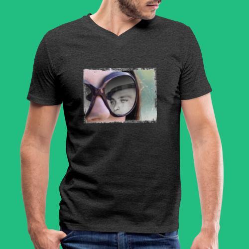 legionairelunette - T-shirt bio col V Stanley & Stella Homme