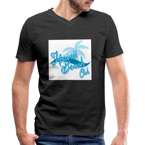 Hawaii Beach Club - Men's Organic V-Neck T-Shirt by Stanley & Stella