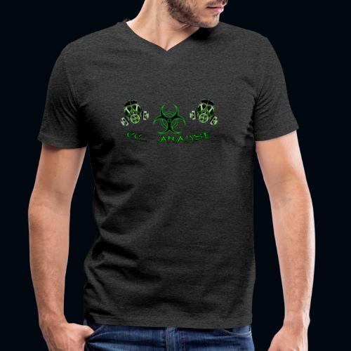 CC-Analyse - Männer Bio-T-Shirt mit V-Ausschnitt von Stanley & Stella