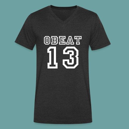 Obeat Limited Edition - Mannen bio T-shirt met V-hals van Stanley & Stella