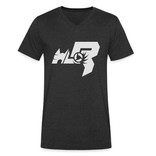 HLR_logo_white - Männer Bio-T-Shirt mit V-Ausschnitt von Stanley & Stella
