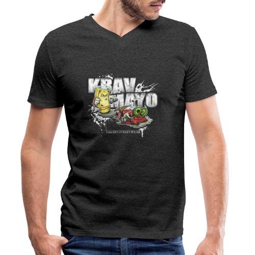 Krav Mayo - Männer Bio-T-Shirt mit V-Ausschnitt von Stanley & Stella
