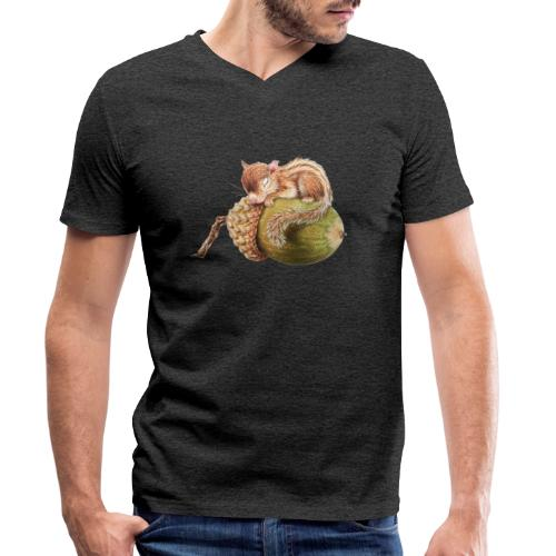 eekhorentje - Men's Organic V-Neck T-Shirt by Stanley & Stella